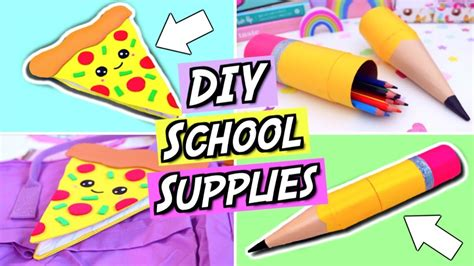 7 Supplies That Make Studying Easier by Diy School Supplies And Easy Diy Back To School