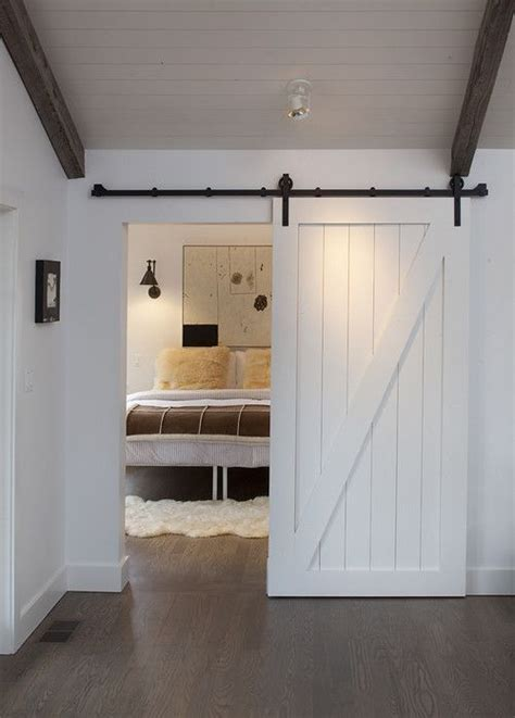 sliding barn door for master bedroom future home ideas