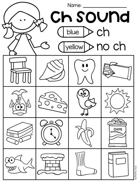 Digraphs Worksheets