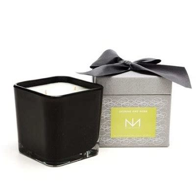 niven candles niven square two wick candle moss
