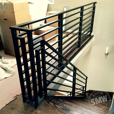 metal stair railing heavy metal works iron balusters iron
