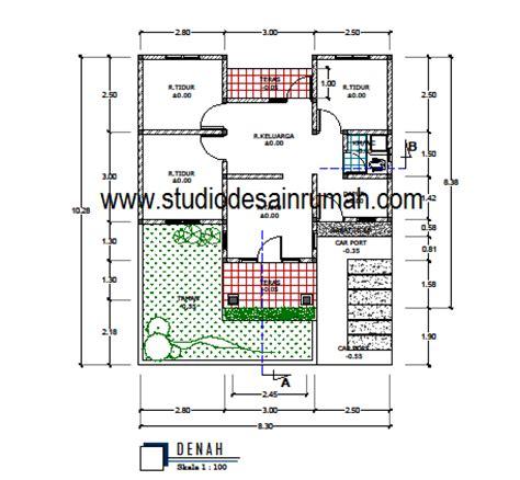 denah new desain rumah lengkap pdf