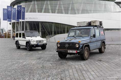 future mercedes g class mercedes benz celebrates 35 years of its g class