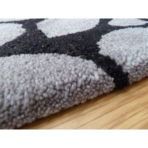 Grey Black Rug by Peaks Edale Black Grey Rug Only Available At Carpet Runners Uk