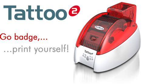 temporary tattoo using printer smartcard systems limited tattoo2 printer