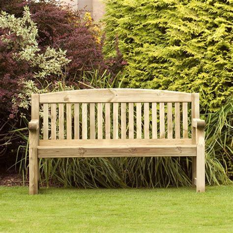 Banc De Jardin Bois Et Banc De Jardin En Bois 1m53 Meuble Et Salon De Jardin