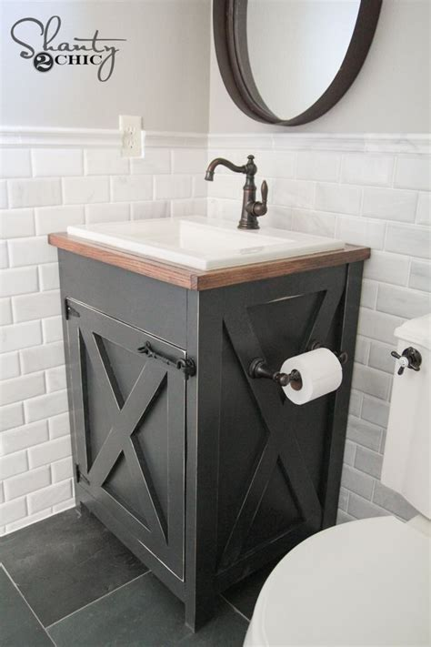 farm style bathroom sink outstanding diy farmhouse style bathroom vanity bathroom