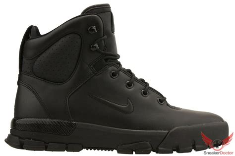 nike mens air nevist  leather acg boots blackblack  sizes ebay