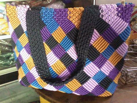 Dompet Atau Tas Kempit Tali Kur tas tali kur komunitas merajut jombang galeri craft