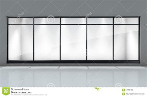 shop front template shop window display stock photo image 57865439