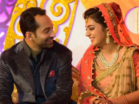 pin nazriya nazim marriage with fahad fazil in august picture on is fahadh faasil a dominating husband filmibeat