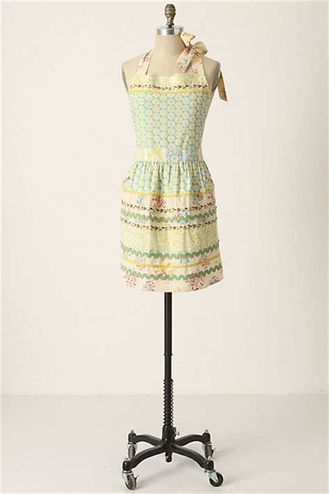 Sewing Basket Apron | sewing basket apron contemporary aprons by anthropologie