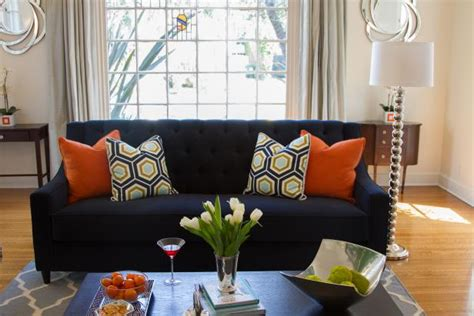Navy Sofa Living Room Photo Page Hgtv