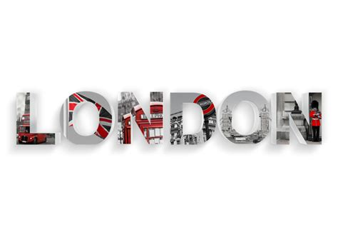 Glass Wall Stickers 3d london printed 3d letter wall art com