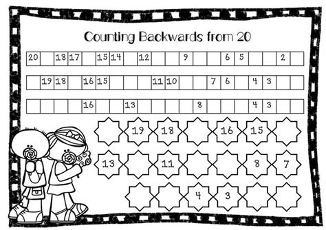 Counting Forward And Backwards Worksheets by 14 Best Images Of Kindergarten Counting Worksheets 11 20