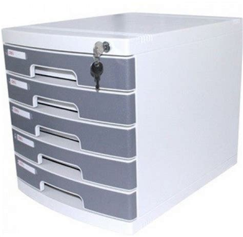 5 Drawer Front by Deli 5 Drawer Cabinet With Front Lock Ref 8855