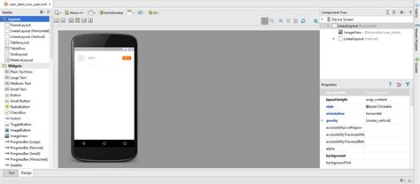 xml layout design android android studio xml layout design preview not available