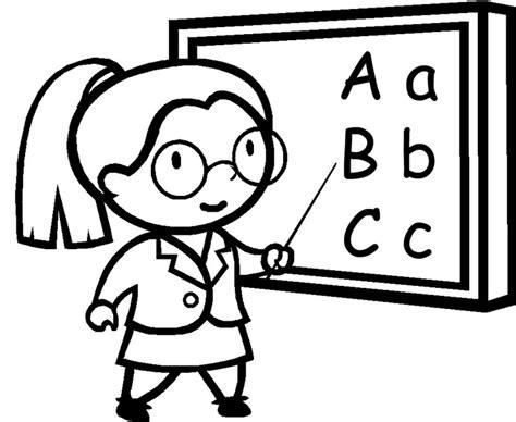 imagenes de maestra dibujos de maestras para colorear pictures