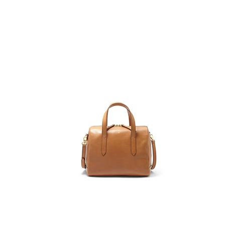 Fossil Sydney Satchel Camel fossil leathers fossil sydney camel satchel leather handbag zb5486235 jewellery from