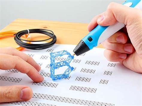 3d doodling pen lets you draw your own objects 3d printing pen gadgetsin