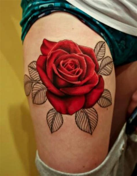rose tattoo down side colorful tattoos ink tattoos тату
