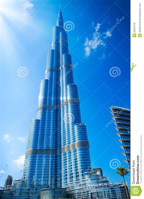 Homes Blueprints by Dubai Uae Burj Khalifa Stock Photo Image Of House