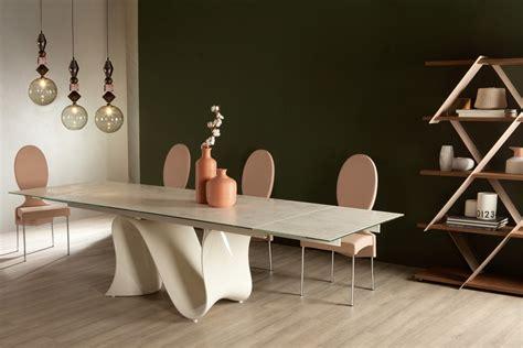 tavolo wave tonin tavolo fisso o allungabile wave di tonin casa di design