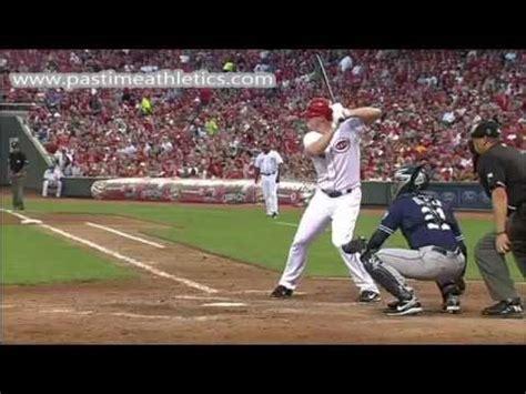 baseball swings in slow motion jay bruce slow motion home run baseball swing hitting