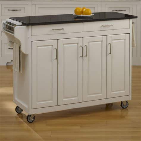 create a cart kitchen island home styles create a cart kitchen island with granite top