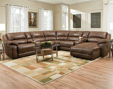 sectional coffee table ideas ideas brown leather sectional sofa with oval coffee