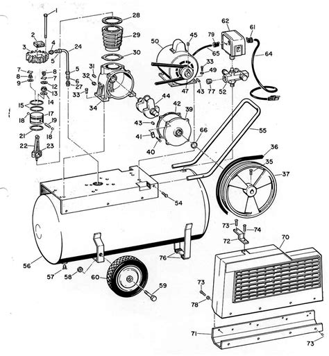 cbell hausfeld air compressor wiring diagram free wiring diagram