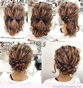 updos for shorter hair pintrest pretty updo tutorial