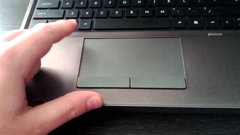 enable  disable  touchpad  hp probook youtube
