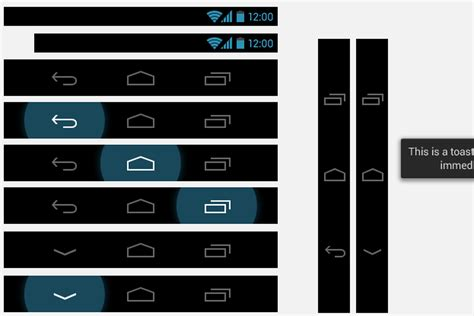 android layout z order android 4 0 ui stencils aim to make app design a little
