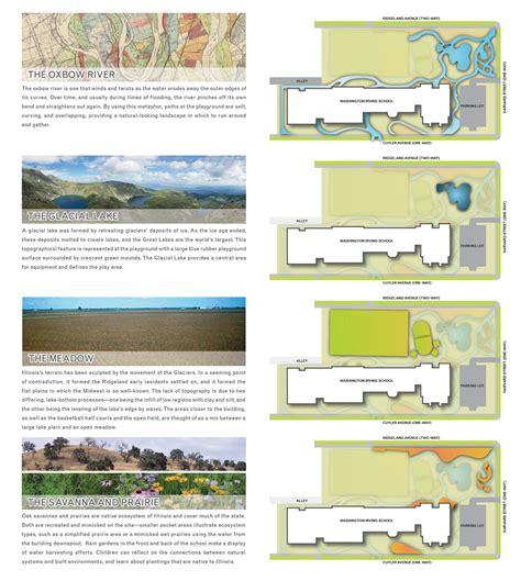 homepage design concepts oak park irving elementary school schoolyard chicago