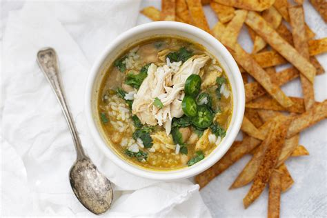 libro chicken soup with rice salsa verde chicken and rice soup one lovely life