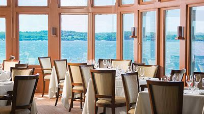 Dining Room At Castle Hill Spending Two Days In Coastal Rhode Island Forbes