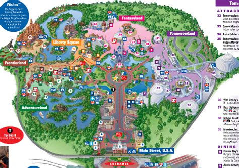 disney world magic kingdom map magic kingdom
