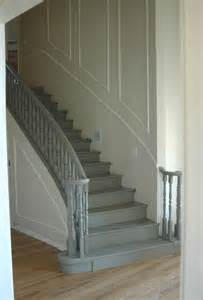 Replacing Banisters Painting The Stairs A Lighter Color Makes A World Of