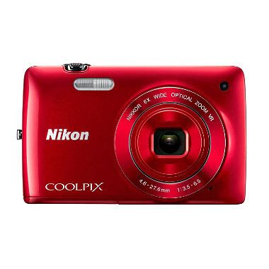 nikon coolpix s4300 16mp digital camera red sam's club