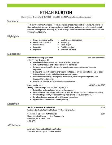 social media specialist resume sle resume marketing director
