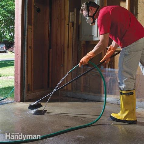 Remove Grease From Concrete Floor by Next Project