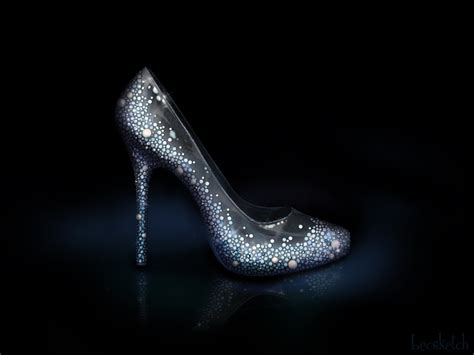 glass slipper meaning cinderella s shoe disney sole by becsketch on deviantart