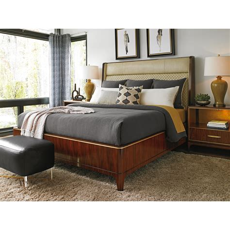 Quilted Leather Headboard by Take Five Empire Sized Bed With Quilted