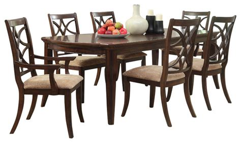 8 piece dining room set homelegance keegan 8 piece dining room set with buffet in