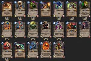 warlock deck a warlock deck to go for the legend rank 2p