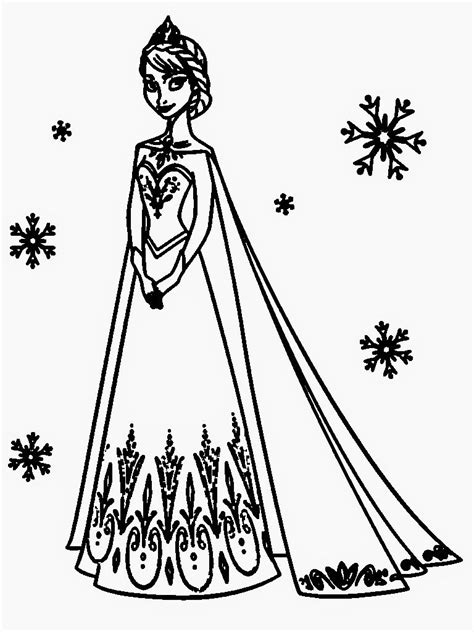 coloring pages of queen elsa from frozen frozen coloring pages elsa coloring pages images