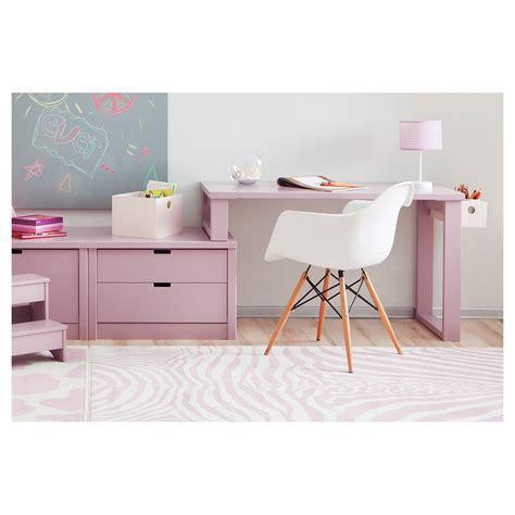 Attrayant Chambre Blanc Et Fushia #5: Bureau-enfant-design-avec-1-caisson-de-rangement-asoral.jpg