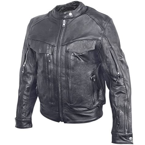 armored leather motorcycle jacket xs 1938 xelement womens multi pocket armored leather