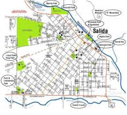 salida colorado map city of salida park map salida colorado recreation